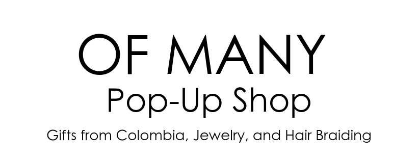 Of Many Pop Up Shop logo