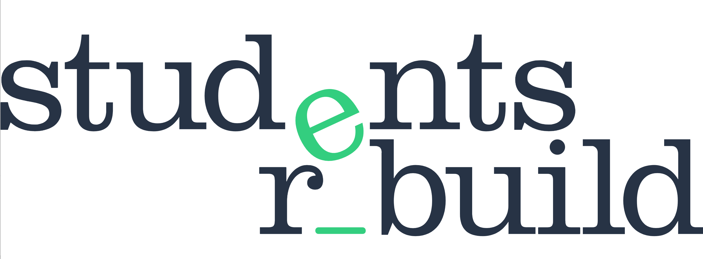 Students Rebuild logo