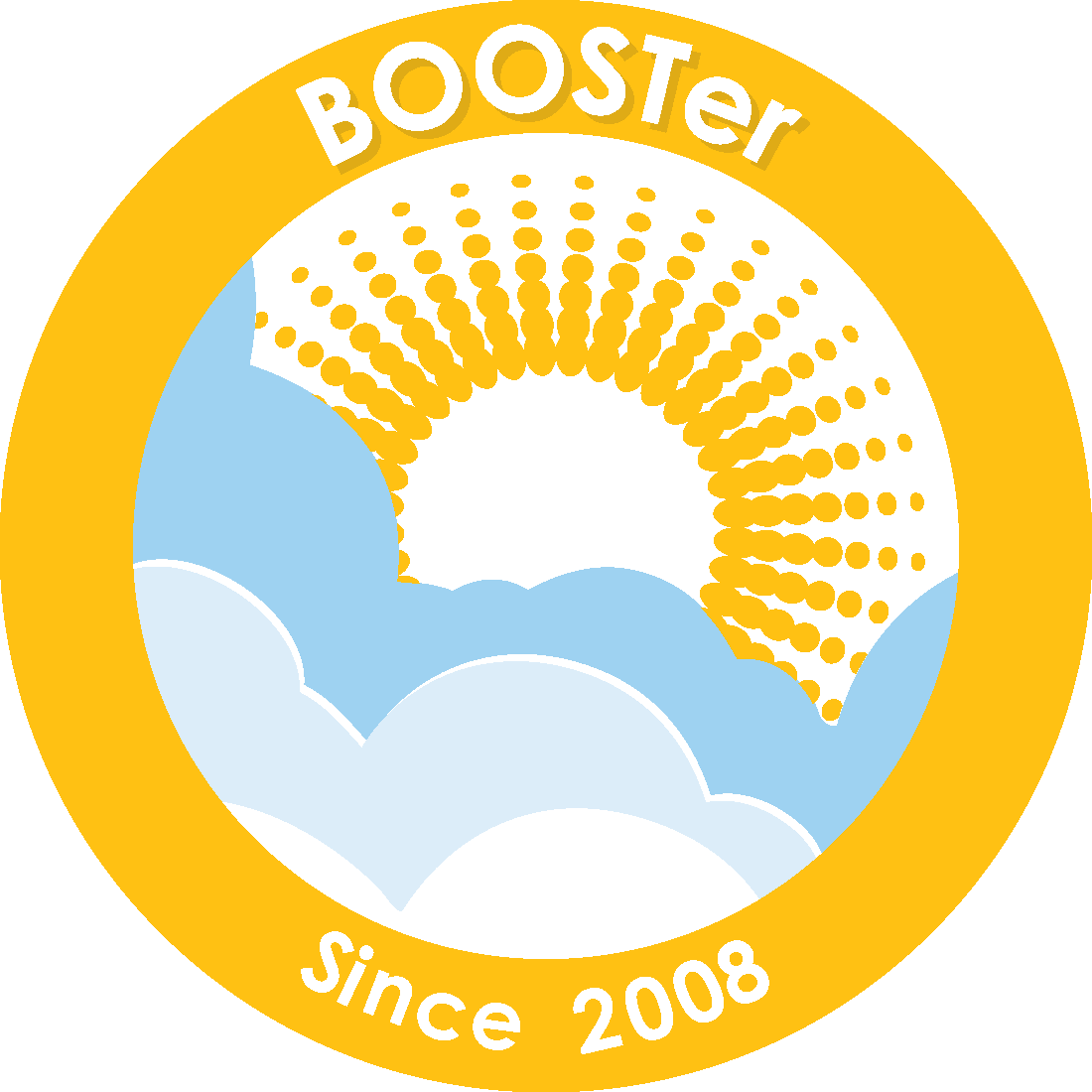 2008 BOOSTer Since badge