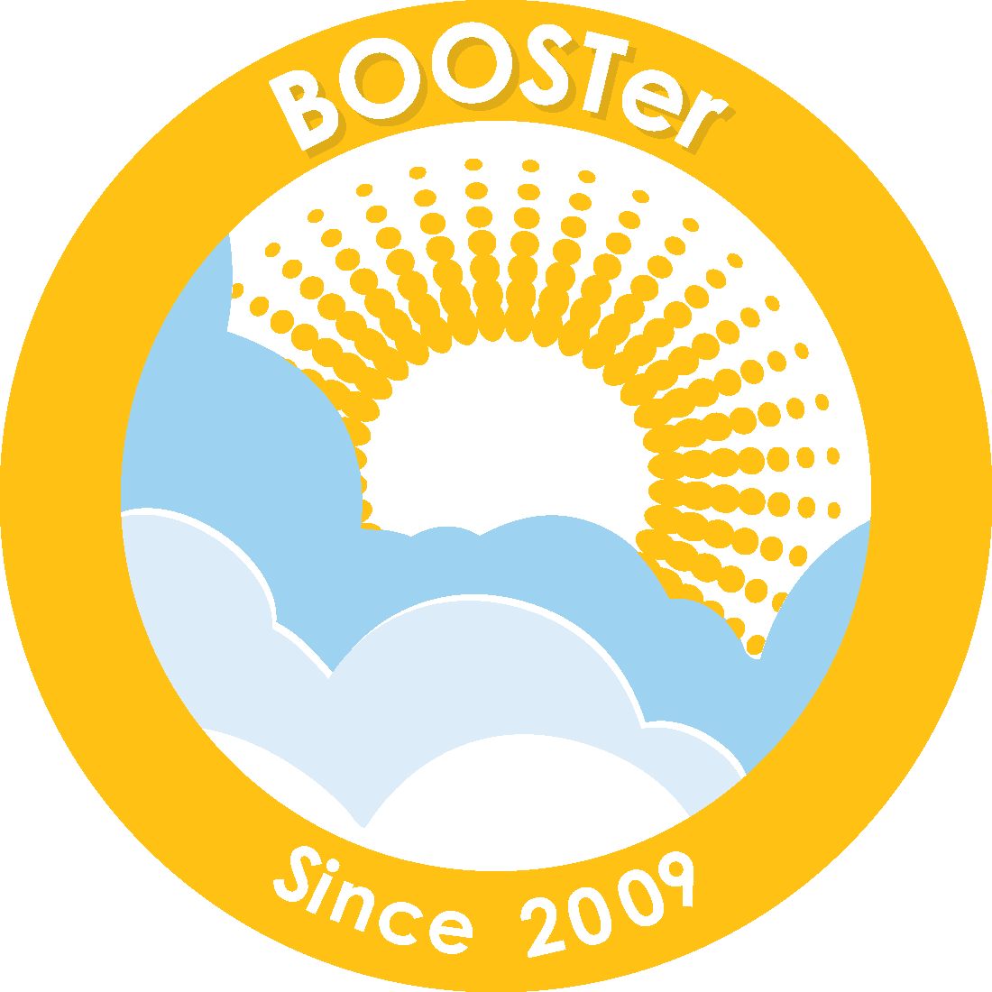 2009 BOOSTer Since badge